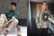 Ridwan Kamil posting foto bareng Parto & Ariel Noah, kocak abis