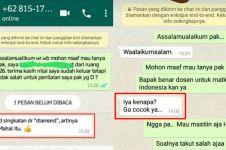 12 Chat lucu dosen ngajak bercanda ini bikin mahasiswa terdiam