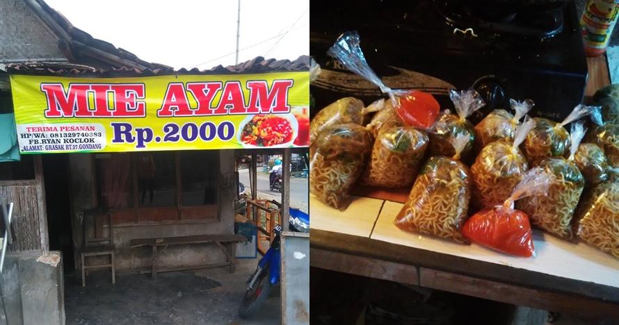 Viral mi ayam Rp 2.000 di Sragen yang dijual di rumah sederhana