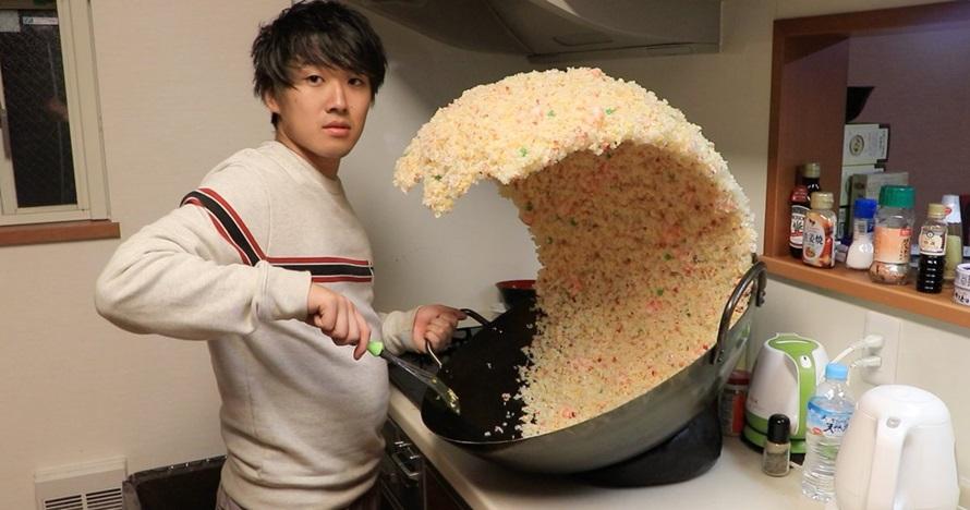 Fakta di balik foto cowok goreng nasi yang viral, bikin penasaran
