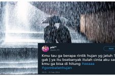 10 Status gombalan lucu tema Hujan ini bikin baper