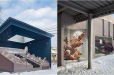 10 Street art 3D bertema sejarah ini detailnya bikin kagum