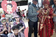 7 Momen Ahokers sambut kebebasan Ahok di Kalijodo, atribut unik