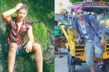 10 Gaya fashion Ammar Zoni saat liburan, inspirasi cowok petualang