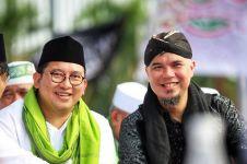 Fadli Zon-Ahmad Dhani tiru Jokowi cukur di Garut, warganet heran