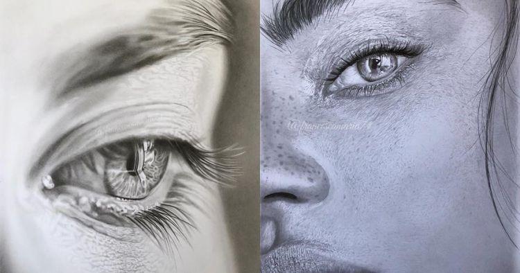 10 Lukisan Dari Pensil Ini Tampak Nyata Detailnya Memukau