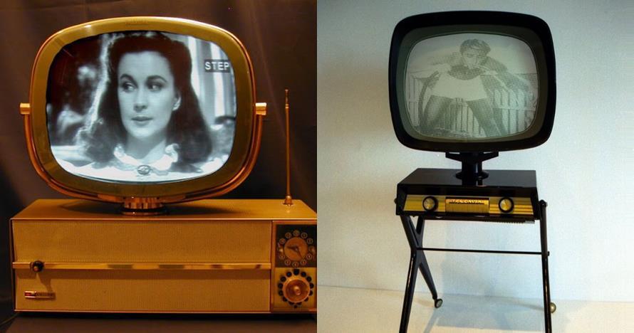 15 Foto langka Philco Predicta, televisi kuno produksi tahun 50-an