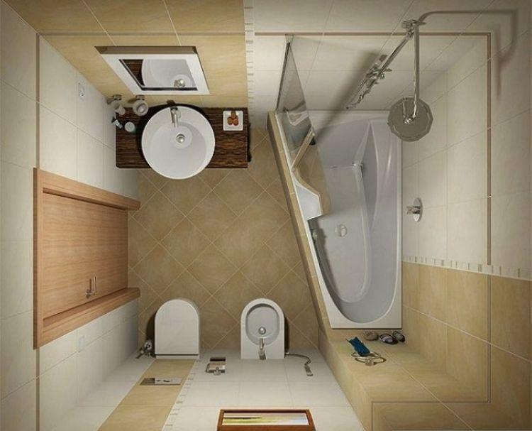 13 Desain kamar mandi mungil ini keren abis, bisa jadi inspirasi