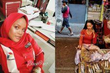 10 Foto editan lucu Rihanna jadi orang Indonesia ini bikin ngakak