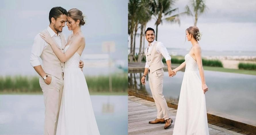 10 Momen romantis bulan madu Randy Pangalila & Chelsey di Bali