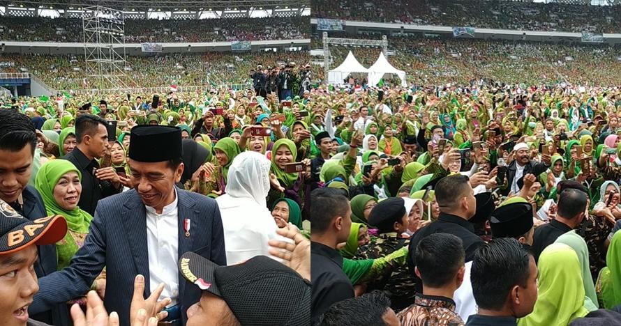 10 Potret meriah Harlah ke-73 Muslimat NU di Gelora Bung Karno