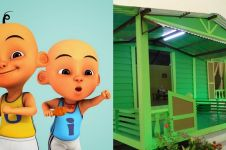 10 Potret rumah Upin Ipin di dunia nyata, perabotnya unik