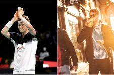 10 Pesona Anders Antonsen juara Indonesia Masters di luar lapangan