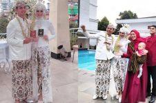 10 Momen bahagia pernikahan Miqdad Addausy dan Nadya Fricella
