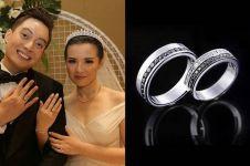 Ini model cincin kawin 8 pasangan seleb Indonesia, elegan banget