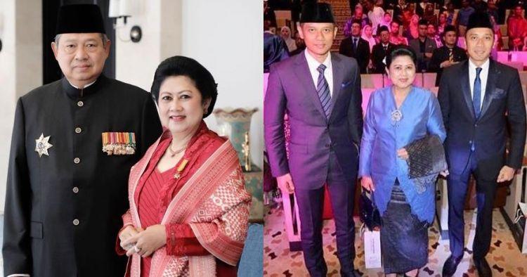 7 Momen Ani Yudhoyono bareng kedua putranya, ada foto tahun 1980