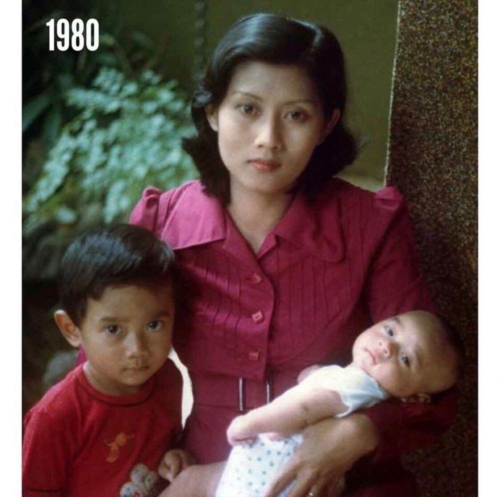 Ani Yudhoyono dan putra instagram