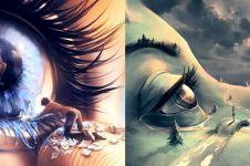 10 Ilustrasi sarat makna karya psikolog ini mencengangkan
