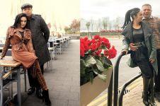 11 Momen Krisdayanti temani suami di Shanghai, tampilannya cetar