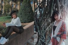 10 Gaya fashion Riri Febrianti saat liburan, stylish & kece abis