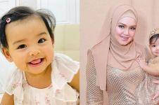 8 Potret terbaru Siti Aafiyah, putri Siti Nurhaliza yang gemesin