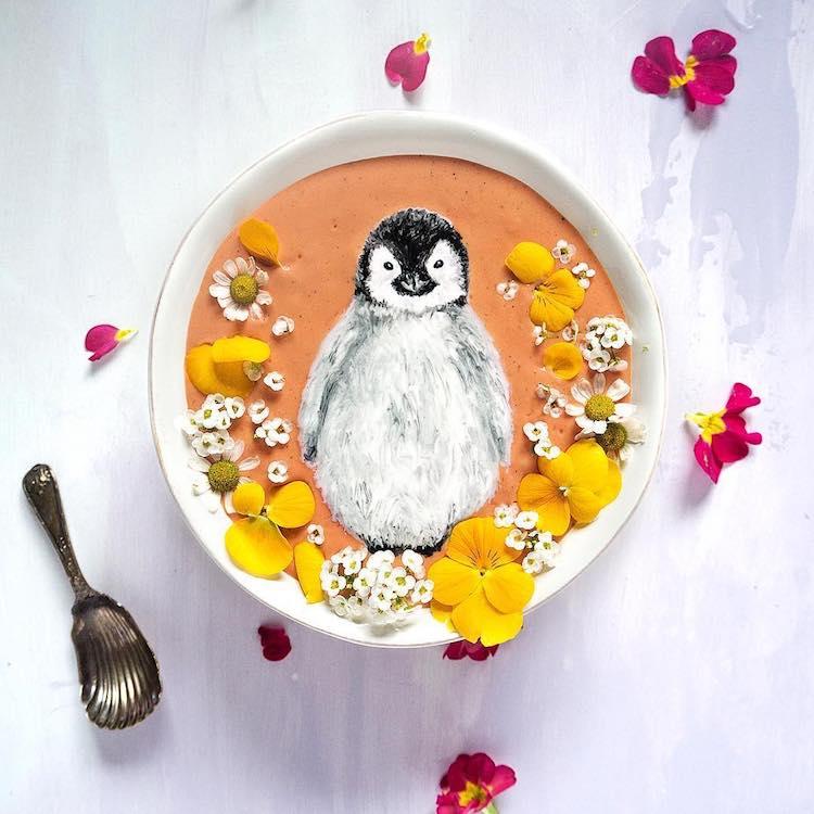 hazelzakariya smoothie bowls © Instagram/@hazelzakariya