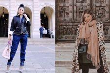 Ini harga fashion item 11 seleb saat liburan di luar negeri