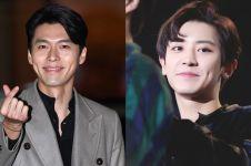 13 Seleb ganteng Korea ini berlesung pipit, senyumnya bikin meleleh