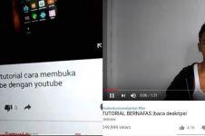 20 Tutorial tak berfaedah di YouTube ini konyol abis, bikin emosi