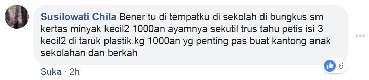 mi ayam rp 1.000 © Facebook/infowargajember