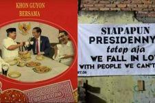 10 Foto editan Jokowi-Prabowo ini bikin adem jelang pilpres