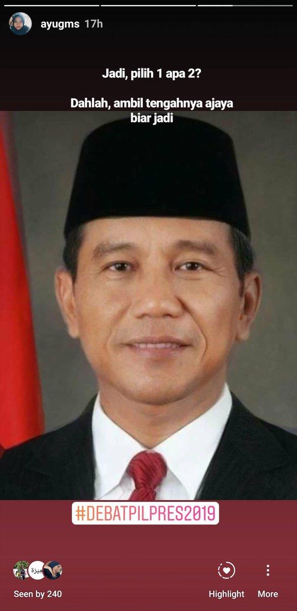10 Foto Editan Jokowi Prabowo Ini Bikin Adem Jelang Pilpres