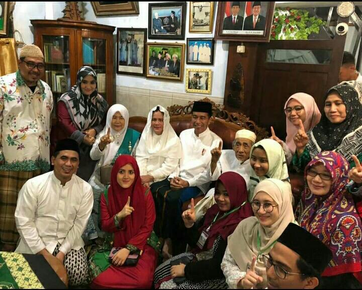 Maimun Zubair beri isyarat dukung Jokowi di Pilres 2019