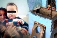 Bayi 11 bulan tewas dibakar hidup-hidup, penyebabnya bikin miris