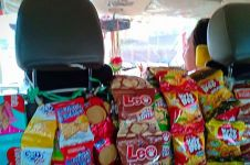 Sediakan snack gratis, alasan driver taksi online ini bikin kagum