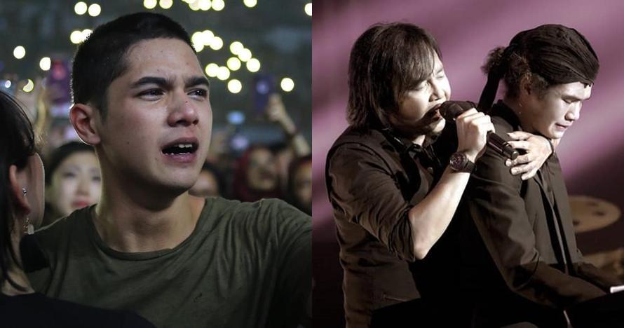 10 Potret haru konser reuni Dewa 19 di Malaysia, Al dan Dul nangis
