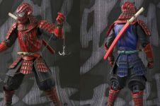 Ini penampilan 5 superhero jika pakai baju samurai, makin sangar
