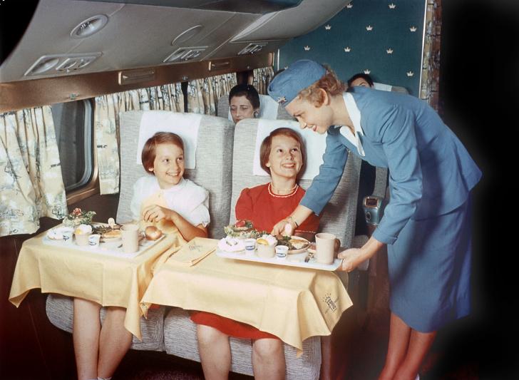 Potret lawas kabin pesawat © 2019 brilio.net