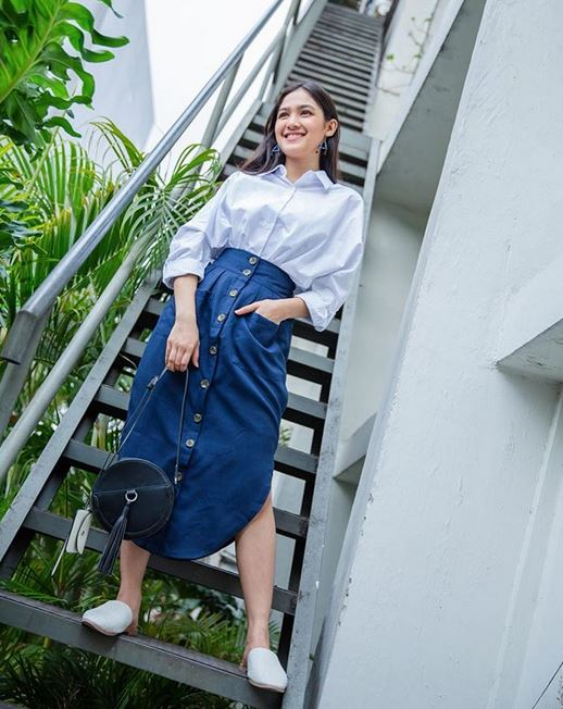 outfit kantor ala syifa instagram
