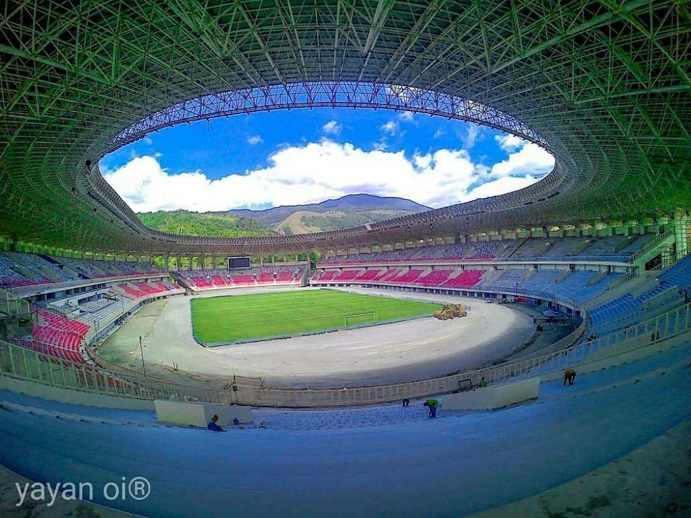 potret terbaru papua bangkit © Instagram/@stadionpapuabangkit