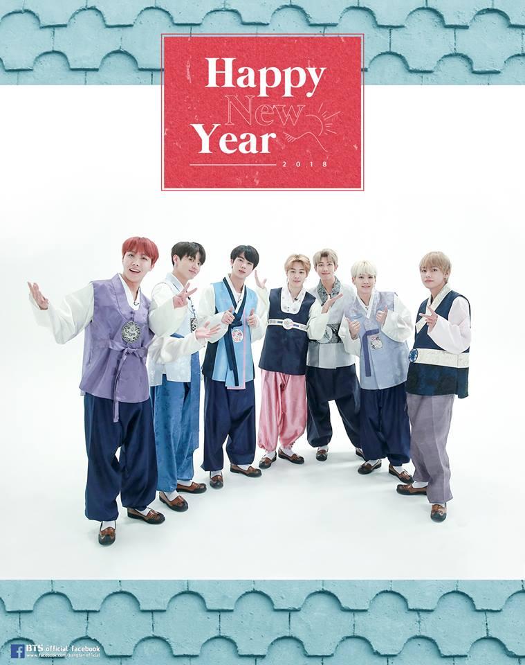 BTS Lunar New Year © 2019 brilio.net