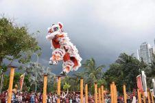 Ramaikan Imlek, Ancol hadirkan Barongsai, Liong, & Reog