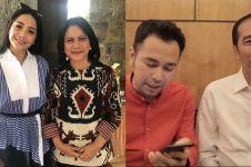 5 Momen Raffi Ahmad & Nagita ngevlog bareng keluarga Jokowi