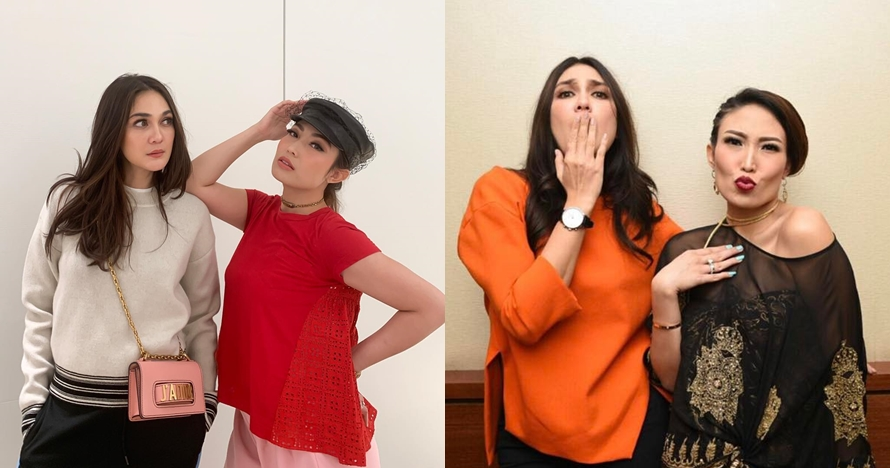 13 Potret persahabatan Luna Maya & Ayu Dewi, friendship goals