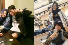9 Foto kemesraan Putri Delina anak Sule & aktor ganteng Dede Satria