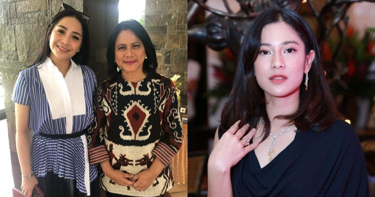 Nagita foto sama Iriana, Dian Sastro salah fokus gaya Ibu Negara