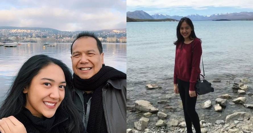 Jadi anak miliader, 8 gaya liburan Putri Tanjung ini simpel
