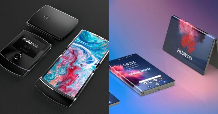 Masih jadi prototipe, 5 smartphone ini layarnya bisa dilipat