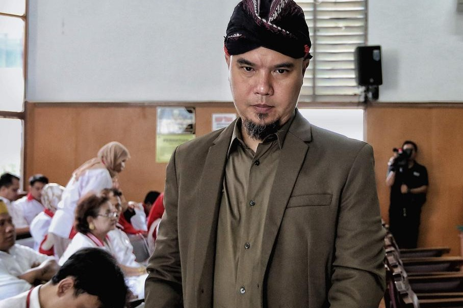 Jalani sidang kasus di Surabaya, Ahmad Dhani tak didampingi keluarga