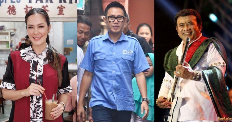 8 Seleb jadi tim pemenangan di kubu Jokowi vs Prabowo